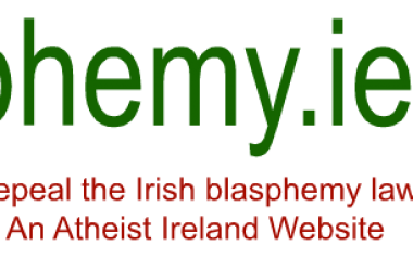 New campaign website at blasphemy.ie