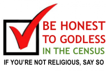 Be Honest about Religion in the Irish Census on Sunday 10 April
