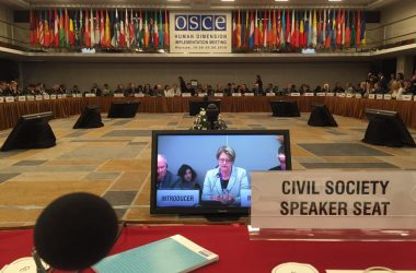 Atheist Ireland report from OSCE human rights conference in Poland