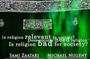 Is religion less relevant to modern society? Debate in London on 19 April