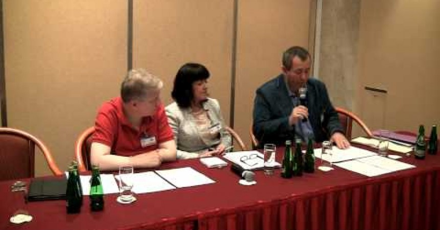 David Nash discusses the Irish blasphemy law at OSCE human rights meeting in Poland