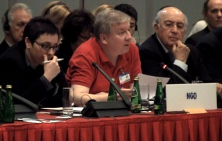 Michael Nugent addressing the OSCE - click for video