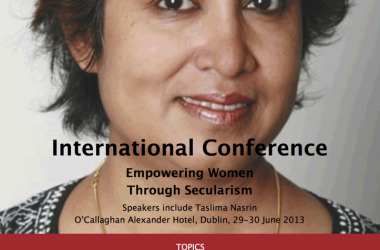 Dublin Declaration on Secularism Empowering Women 2013