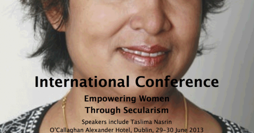 Dublin Declaration on Secularism Empowering Women 2013