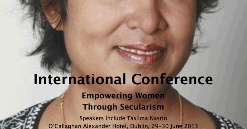 Atheist Ireland to host international conference on Empowering Women Through Secularism