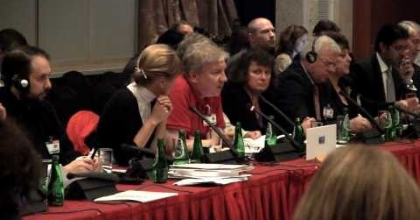 Protecting the human rights of atheists – Michael Nugent at the annual OSCE human rights meeting in Poland this week