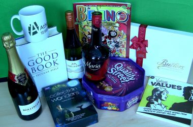 Join the Atheist Ireland Christmas Party Fundraising Raffle for our Course about Atheism