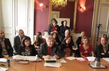 Pictures of Atheist Ireland briefing the UN Human Rights Committee in Geneva