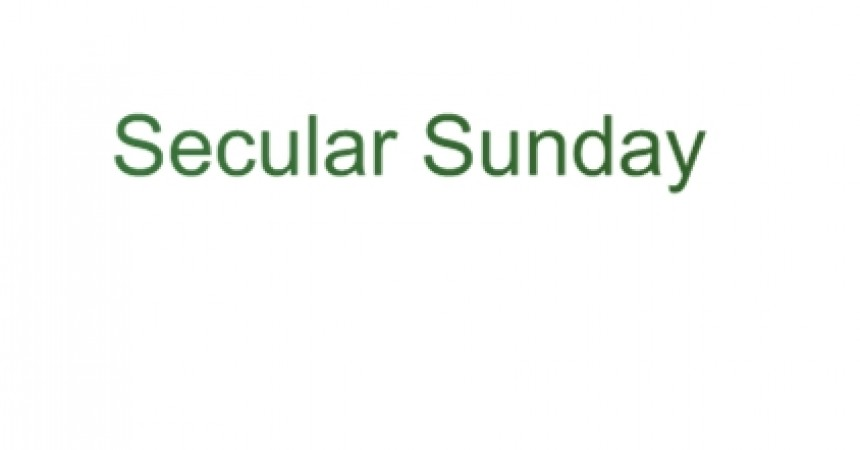 Secular Sunday #63 – It's Perfunctory