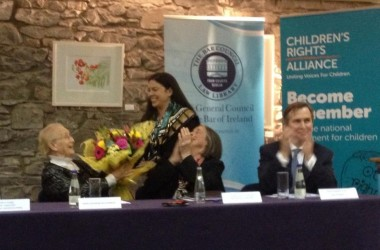 Atheist Ireland attends launch of Catherine McGuinness Fellowship on Children's Rights and Child Law