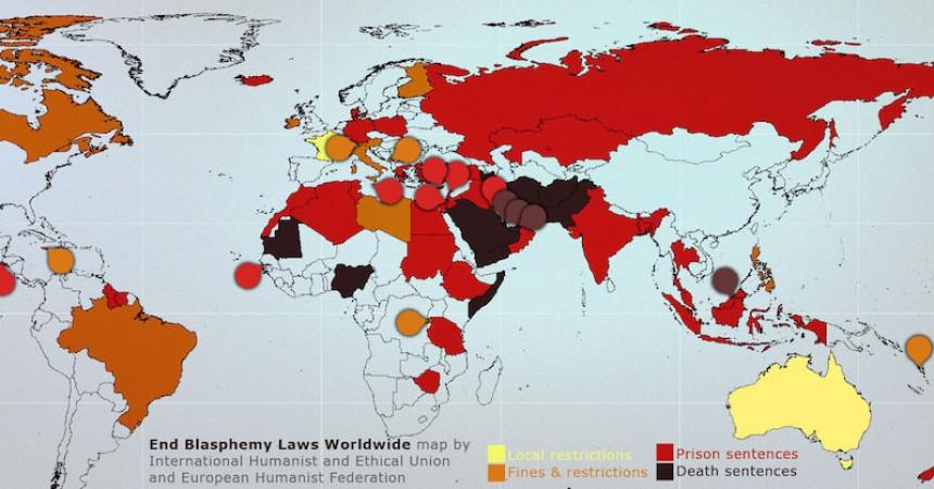 Atheist Ireland helps to found new international campaign to end blasphemy laws