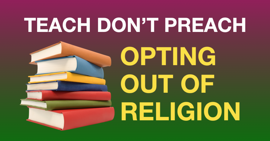 Bishop's statement confirms that religious opt-out system does not work in practice