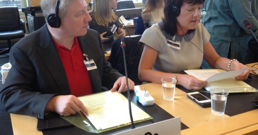 Atheist Ireland addresses UN Human Rights Council on blasphemy, schools and abortion