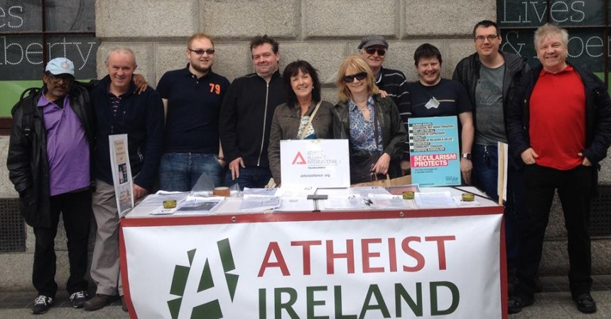 Celebrating the Third Anniversary of the Atheist Ireland Information Table