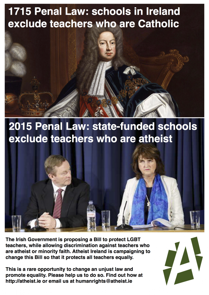 religious discrimination against teachers