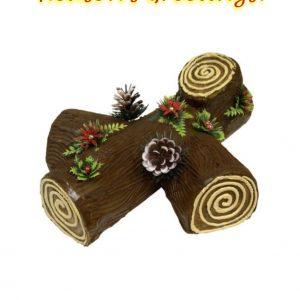 A festive Yule Log