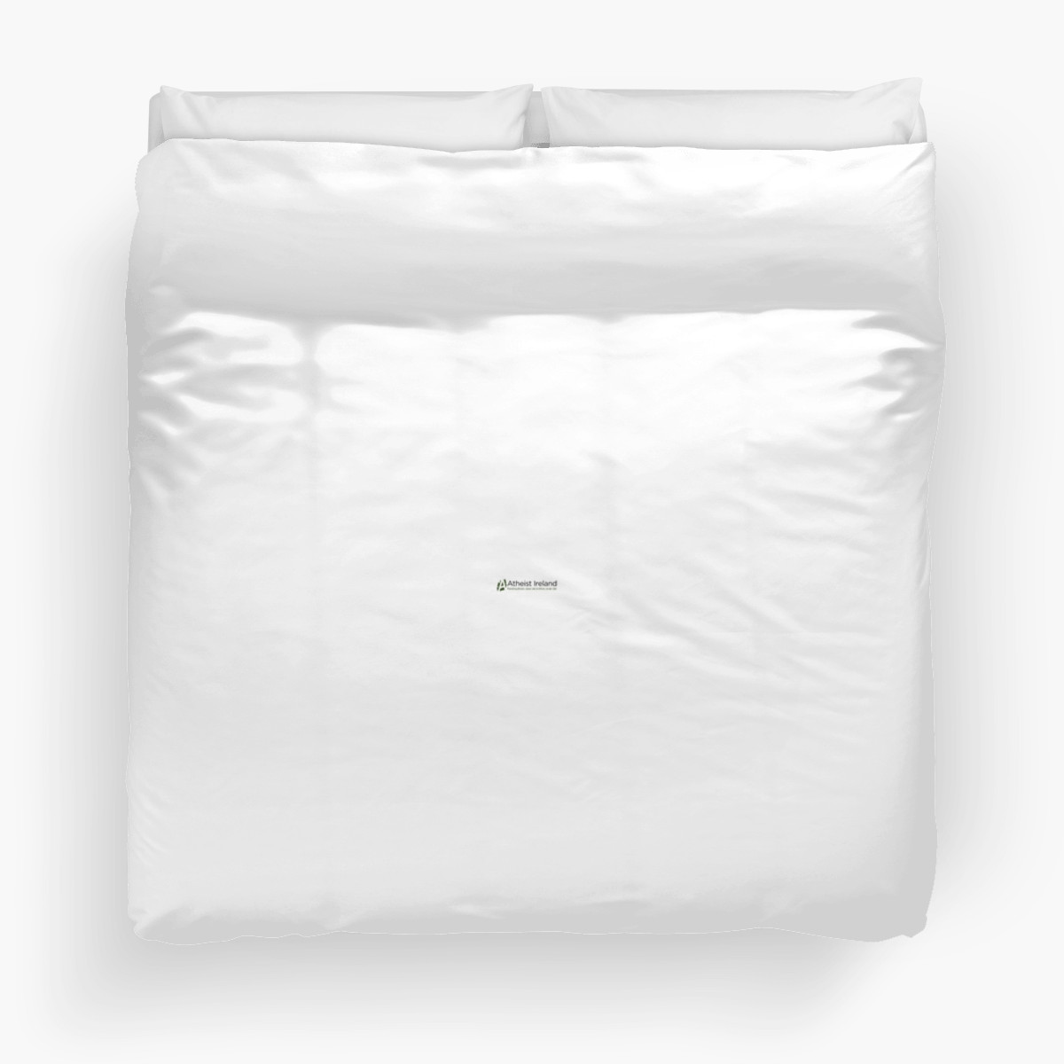 Atheist Ireland Logo Duvet Cover (king)