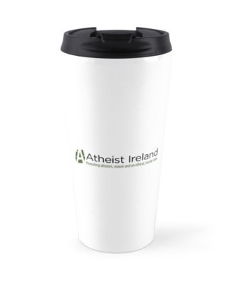 Atheist Ireland Logo Travel Mug