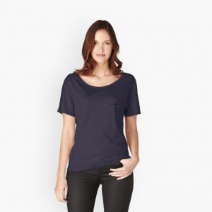 womens relax fit v t-shirt