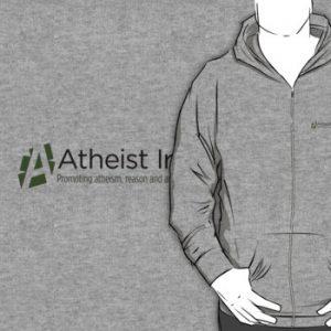 zipper hoodie grey