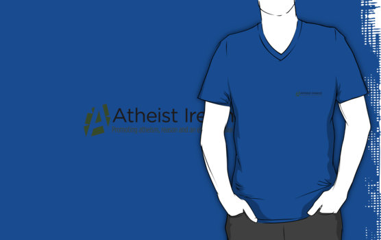 v neck t shirt blue