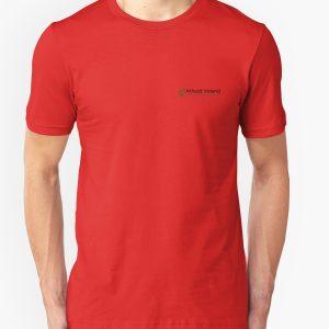 Unisex red Atheist Ireland T-Shirt