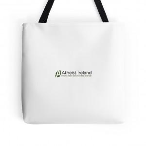 Atheist Ireland Logo Tote bags