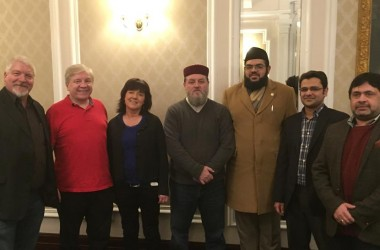 Historic meeting of Irish Atheists, Evangelicals and Ahmadiyya Muslims for Secularism