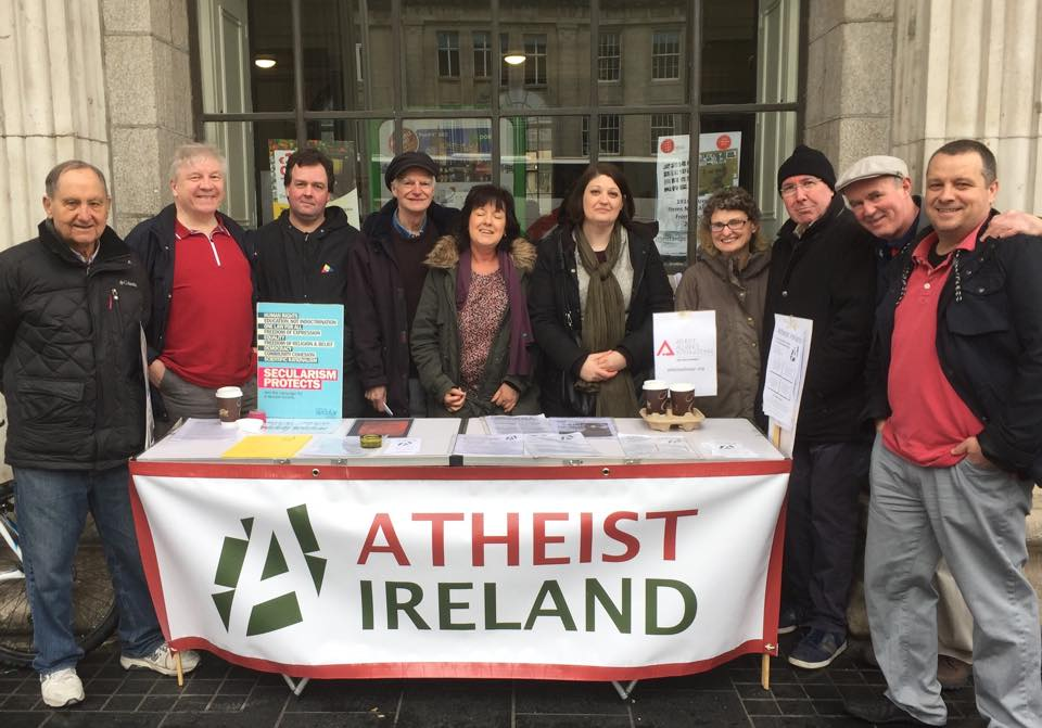 Members of Atheist Ireland ... if you see any of these people please contact the nearest Garda station immediately.