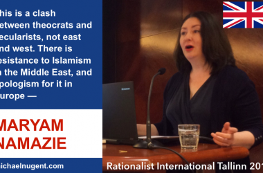 Maryam Namazie moves blog and launches new website
