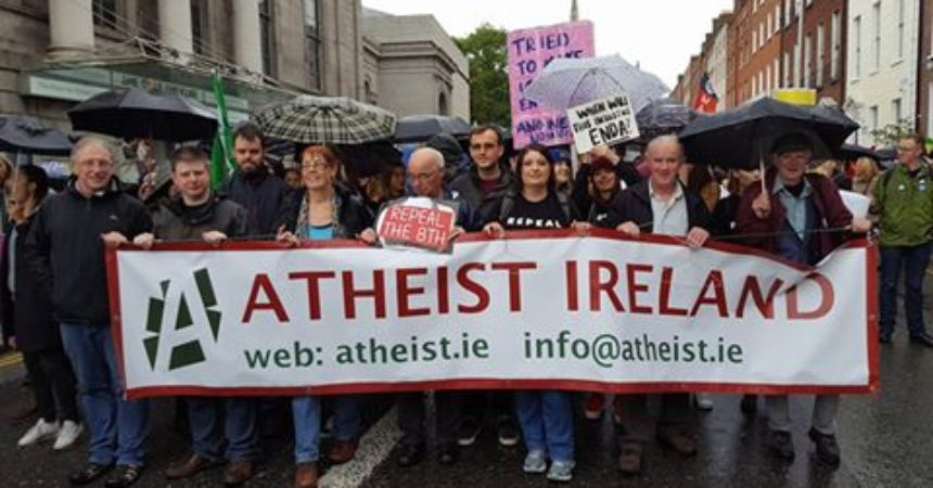 Atheist Ireland Supports call to Repeal 8th Amendment Abortion Ban