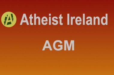 Atheist Ireland AGM and public meeting, Davenport Hotel Dublin, Sat July 17