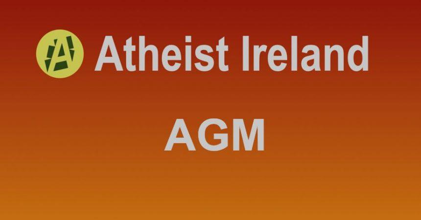 Atheist Ireland AGM 2016