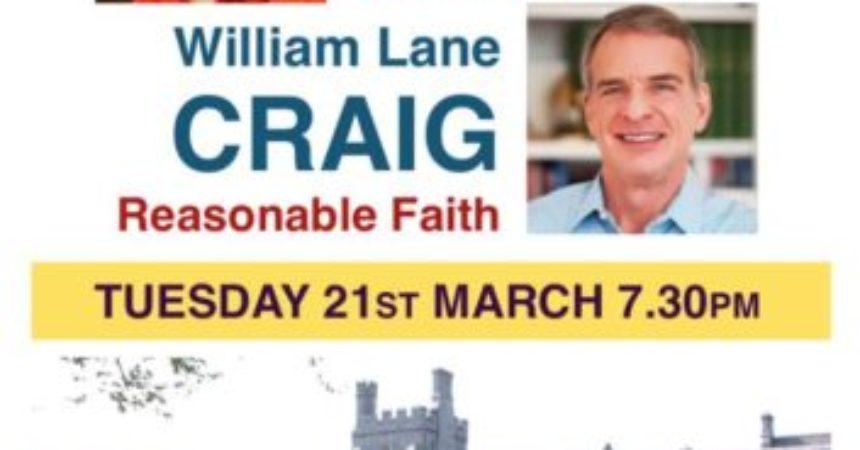 Does God exist? Michael Nugent debates William Lane Craig