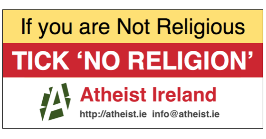 One in ten Irish now have no religion – more than all minority religions combined