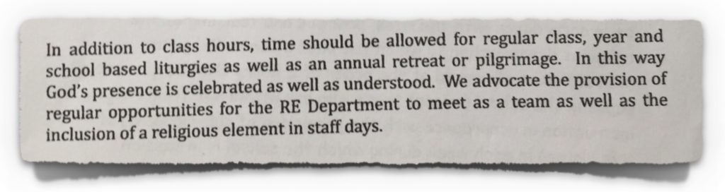 2014-01-24 Diocesan Advisor Instructions Issued to Schools by CEO of CMETB (Part 2)