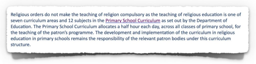 First Extract from CCPC Response to Complaint on 27th June 2017