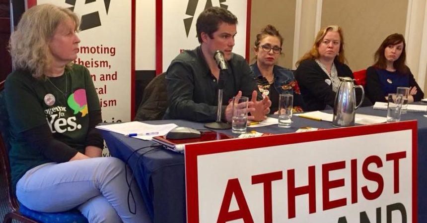 Why repeal the 8th? Video of the speakers at Atheist Ireland's Information Evening