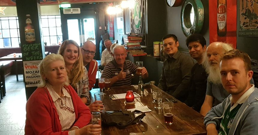 Atheists in the Pub Limerick Oct 2016