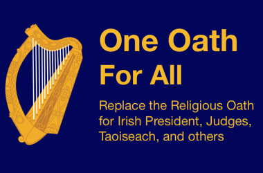 Atheist Ireland launches 'One Oath For All' campaign