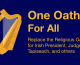 Secular Sunday #359 – One Oath For All