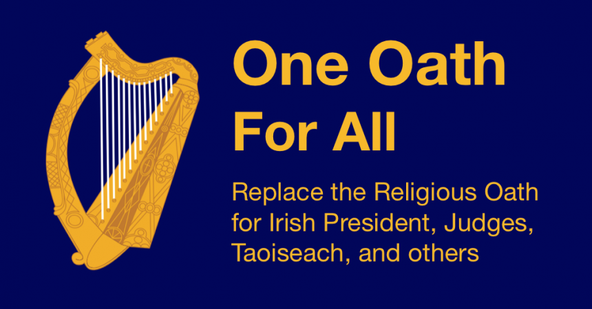 Taoiseach, Tánaiste, and others must swear a religious oath to remain in office