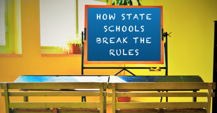 Secular Sunday #376 – How State Schools Break The Rules