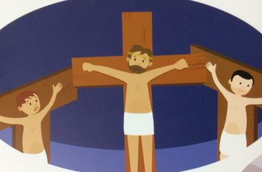 Secular Sunday #382 – Cartoon images of young boys being tortured on crosses