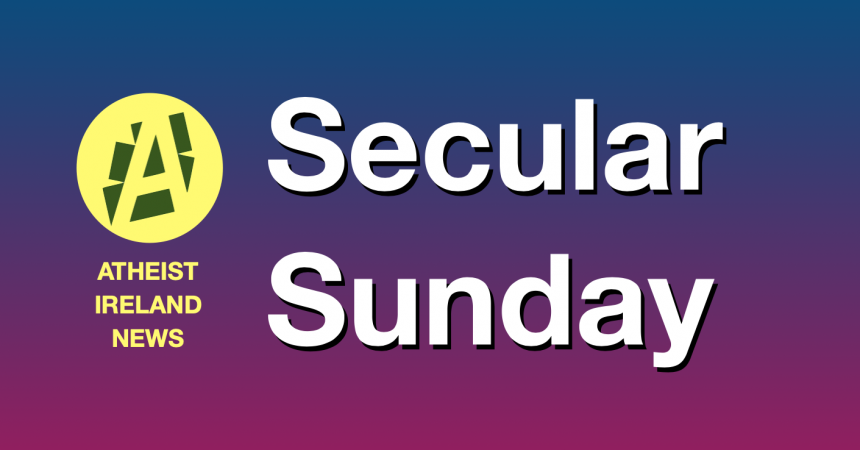Secular Sunday #272 – Please help now to separate church and state
