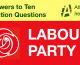 Labour Party responses to General Election questions from Atheist Ireland
