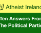 Which parties have the most secular policies? Ten answers from the political parties