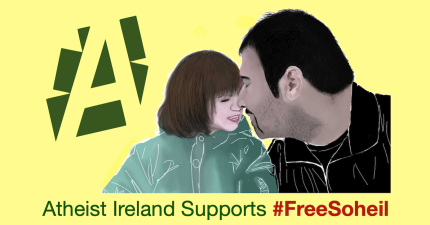 Support today's livestream for jailed Iranian blogger Soheil Arabi