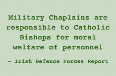 Religious discrimination in the Irish Defence Forces Part 2