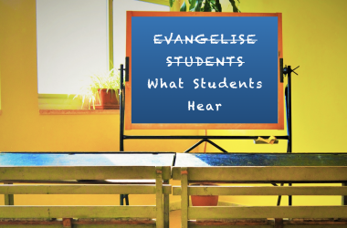 How the State uses misleading language to hide the purpose of religious ethos in schools